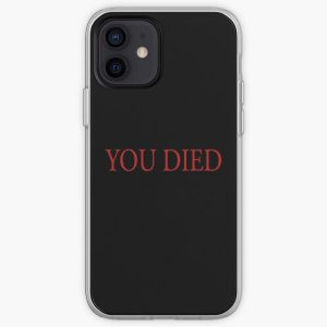 You Died iPhone Soft Case RB0909 product Offical Dark Souls Merch
