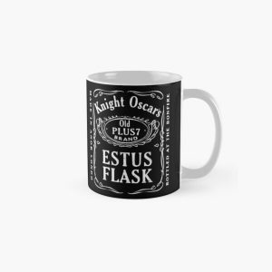 Knight Oscar's Estus Flask - Bottled at the Bonfire - Gamer Gift Classic Mug RB0909 product Offical Dark Souls Merch