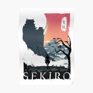 Sekiro Lone Wolf Poster RB0909 product Offical Dark Souls Merch