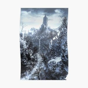 Painted World of Ariandel Poster RB0909 product Offical Dark Souls Merch