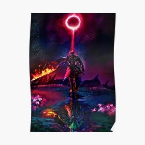 Boss of the Ring in Flames Poster RB0909 product Offical Dark Souls Merch