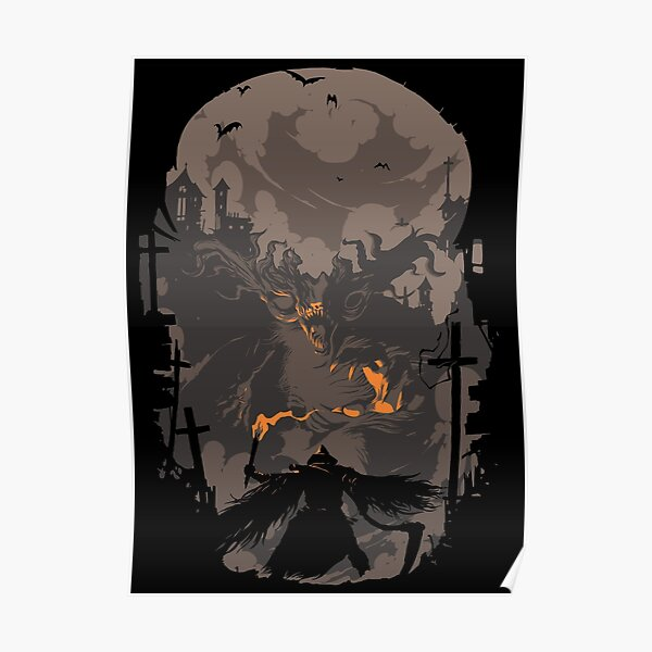 Blood Encounter Poster RB0909 product Offical Dark Souls Merch