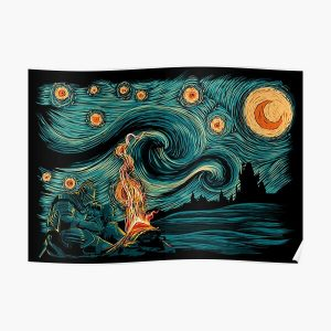 Starry Souls Poster RB0909 product Offical Dark Souls Merch
