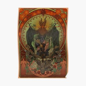The Hawk Poster RB0909 product Offical Dark Souls Merch