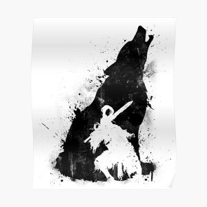 Abyss Warrior VERSION BLACK Poster RB0909 product Offical Dark Souls Merch