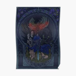 The Wolf Poster RB0909 product Offical Dark Souls Merch