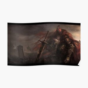 Slave Knight Gael Poster RB0909 product Offical Dark Souls Merch