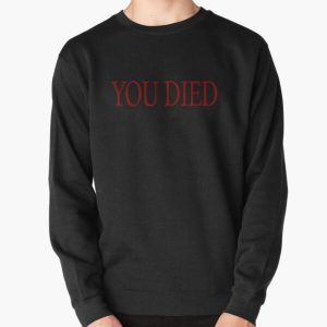 YOU DIED! Pullover Sweatshirt RB0909 product Offical Dark Souls Merch