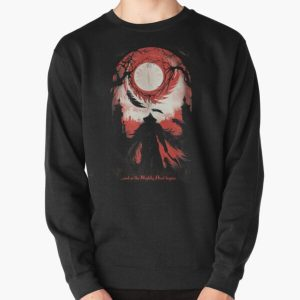 And so the Nightly Hunt begins Pullover Sweatshirt RB0909 product Offical Dark Souls Merch