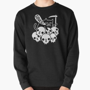 Cat Got Your Soul? Pullover Sweatshirt RB0909 product Offical Dark Souls Merch