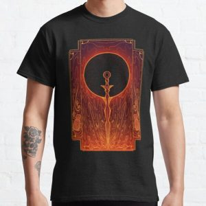 Sword of the Eclipsed Sun Classic T-Shirt RB0909 product Offical Dark Souls Merch