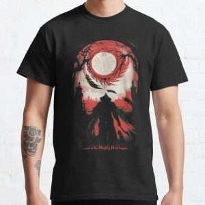 And so the Nightly Hunt begins Classic T-Shirt RB0909 product Offical Dark Souls Merch