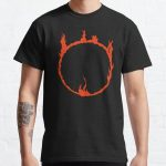 Dark Sign - Red  Classic T-Shirt RB0909 product Offical Dark Souls Merch