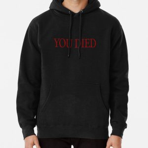 YOU DIED! Pullover Hoodie RB0909 product Offical Dark Souls Merch