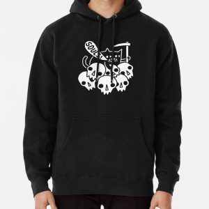 Cat Got Your Soul? Pullover Hoodie RB0909 product Offical Dark Souls Merch