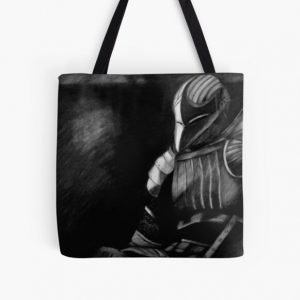 Fluted Knight Armor All Over Print Tote Bag RB0909 product Offical Dark Souls Merch