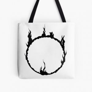 Dark Sign - Black  All Over Print Tote Bag RB0909 product Offical Dark Souls Merch