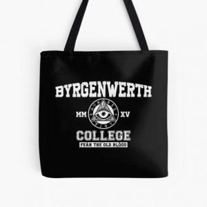 Byrgenwerth College (White Text)  All Over Print Tote Bag RB0909 product Offical Dark Souls Merch
