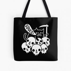 Cat Got Your Soul? All Over Print Tote Bag RB0909 product Offical Dark Souls Merch