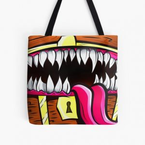 Mimic Chest - Dungeons & Dragons Monster Loot All Over Print Tote Bag RB0909 product Offical Dark Souls Merch