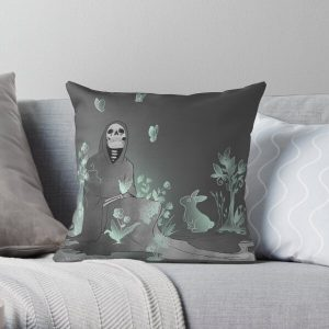 Never lost Throw Pillow RB0909 product Offical Dark Souls Merch