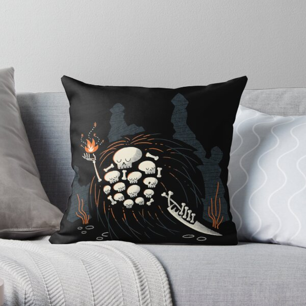Gravelord Throw Pillow RB0909 product Offical Dark Souls Merch
