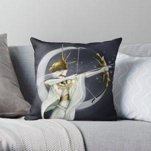 Dark Sun Gwyndolin Throw Pillow RB0909 product Offical Dark Souls Merch