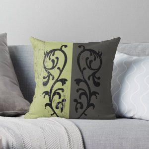 Grass Crest Shield Throw Pillow RB0909 product Offical Dark Souls Merch