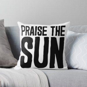 Praise The Sun! Throw Pillow RB0909 product Offical Dark Souls Merch