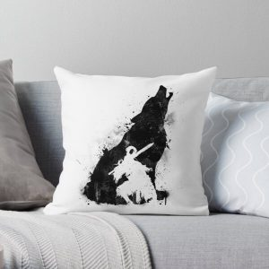 Abyss Warrior VERSION BLACK Throw Pillow RB0909 product Offical Dark Souls Merch